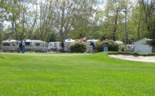 Calistoga RV Park at the Napa County Fairgrounds