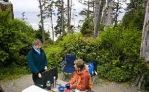 Pacific Rim National Park Reserve - Green Point Campground